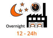 Overnight-Produktion